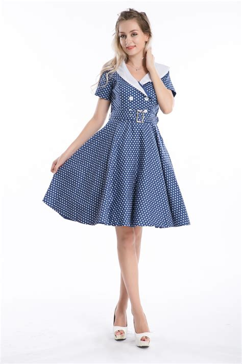 plus size swing dress rockabilly free shipping 2015 womens summer vintage dress rockabilly