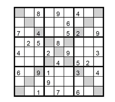printable intermediate killer sudoku intermediate sudoku x 2 intermediate sudoku x to print