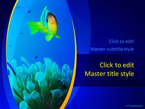 Free Bird Ppt Template Fish Ppt Templates Free