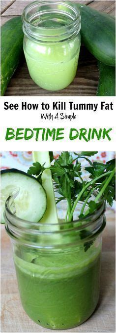 Bedtime Belly Detox by This 1 Simple Bedtime Drink Kills Tummy While You