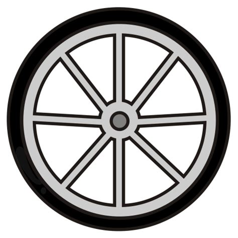 Bicycle Wheel Outline by Bike Wheel Clipart Clipart Panda Free Clipart Images