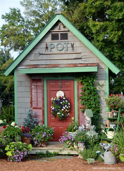style your she shed potting shed featured in she sheds a room of your own