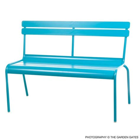 blue garden bench 17 best ideas about blue garden furniture on pinterest