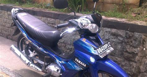 Dijual Satria Fu150 Tahun 2008 Bu info harga motor jakarta motor jupiter z 2008 cw biru