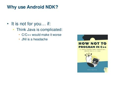 Why Android Uses Java by Android Ndk