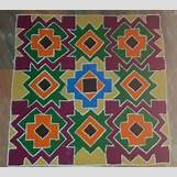 Rangoli Designs With Flowers And Colours   584 x 517 jpeg 62kB