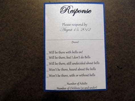 humorous wedding response cards diy butterfly pocket fold invites weddingbee photo gallery
