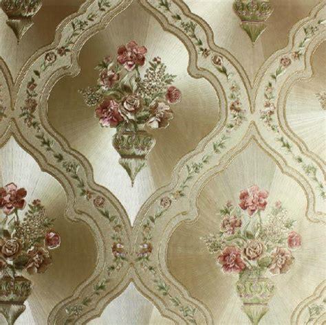 classic italian wallpaper italian flower metallic wallpaper embossed pvc wallpaper