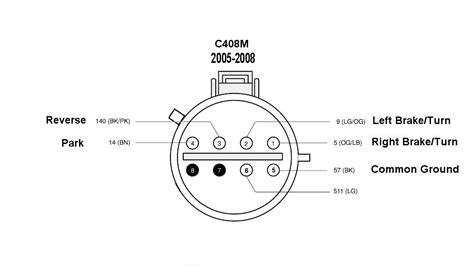 wiring diagram for ford f350 2005 parking lights 48