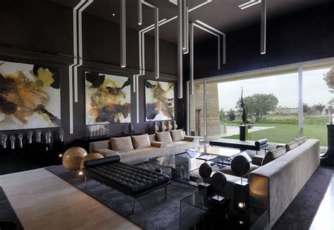 Wohnzimmer Polstermöbel by Wohnzimmer In Grau Und Schwarz Gestalten 50 Wohnideen