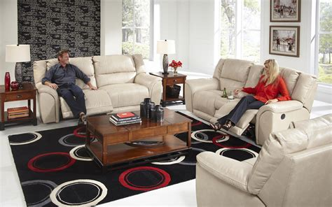 catnapper carmine power lay flat recliner vandrie home