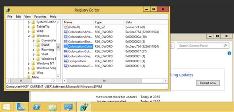 how to change color on windows 8 how to change color scheme in windows server 2012 server