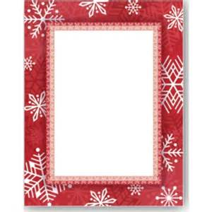 Home border papers designed border papers snowflake delight border