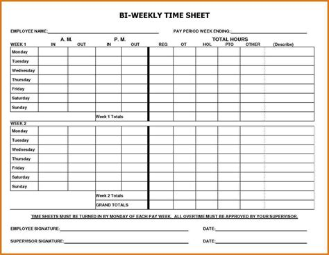 docs template ctime card biweekly timesheet template and docs timesheet