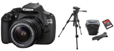Tripod Kamera Canon 1200d canon eos 1200d 18 55mm lens kit 18 megapixel dslr