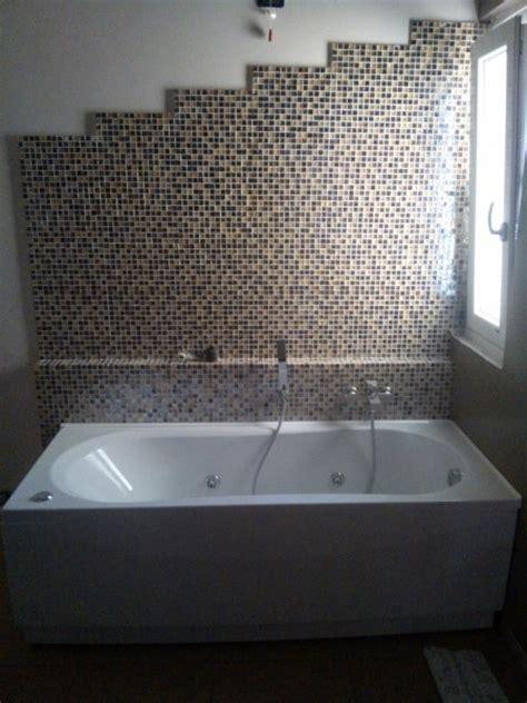 lade da incasso per interni foto bagno con mosaico e vasca idromassaggio di de castro