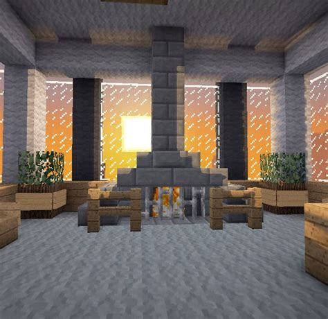 minecraft furniture fireplaces