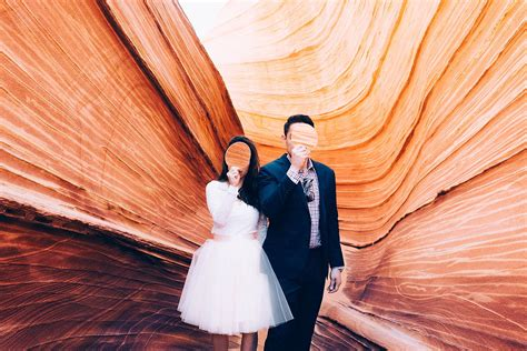 The Engagement by An Elopement At The Wave In Arizona Jones Photography