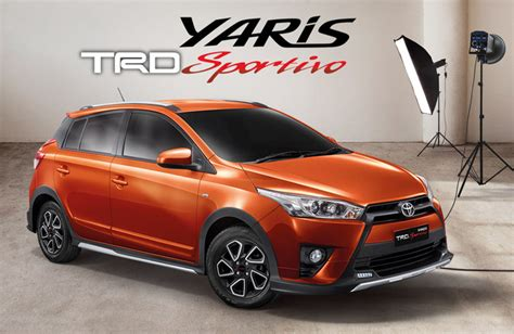 Toyota Yaris Trd Mt 2016 by 豐田 Toyota Yaris Trd Sportivo 曼谷車展跨界變身 四門兄弟 Vios 換心改cvt強勢登場