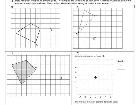 shape pattern games ks2 translation geometry position of shape ks2 year 5