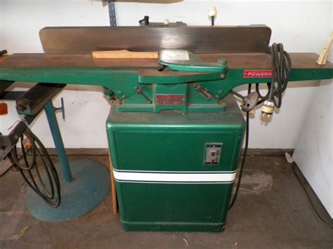 Poewrmatic Jointer Sale Router Forums