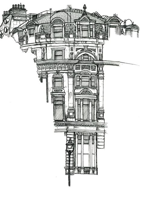 pin by matthieu mielvaque on architectural drawing pinterest location drawings by chris burge via behance