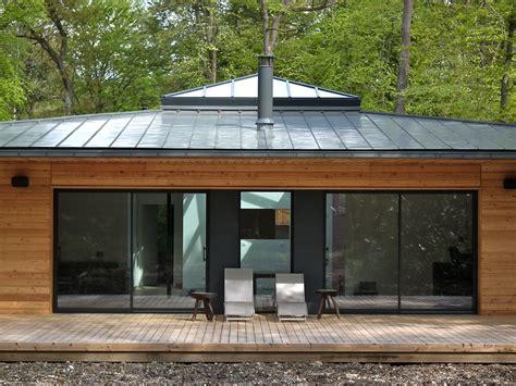 Maison En Pleine Foret by Normandie Une Maison 224 Ossature Bois Carr 233 E En Pleine