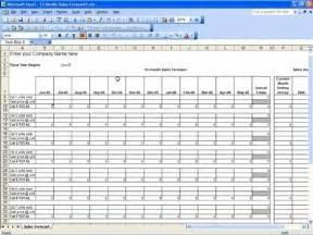 sales forecast template sales forecast template peerpex