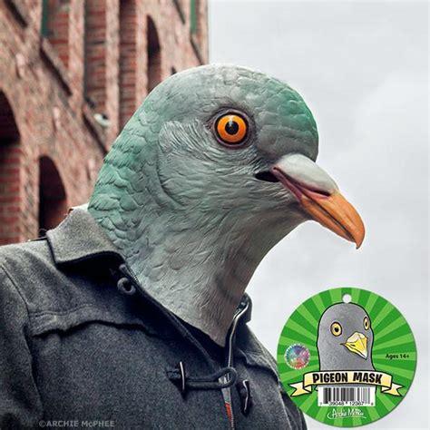 pigeon mask archie mcphee