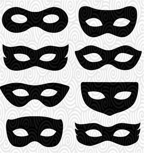 villain mask template cricut template eye masks masquerade silhouette no