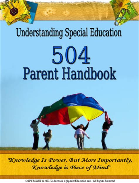 special education section 504 504 parent handbook