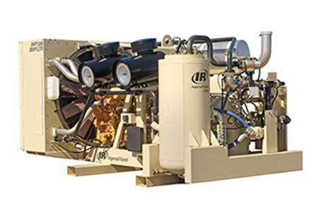 xhpfcat ingersoll rand dual pressure air compressor  cfm   psi  discharge