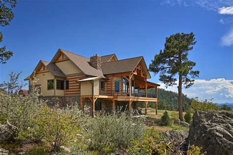 Green Building Floor Plans by Golden Gate Ranch Colorado Timberframe
