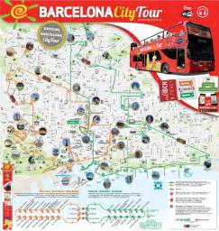 Map Of Barcelona Spain by City Map Of Barcelona Catalonia Spain Mediterranean
