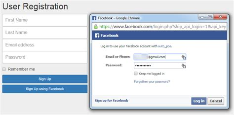 javascript tutorial login page simple login and sign up using facebook javascript sdk my