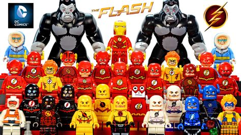 Lego Marvel Comics Yellow Jacket Ant Series Bootleg my lego the flash dc comics heroes 2016 minifigure