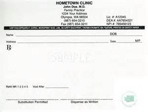 Prescribing Essays by Washington Approved Prescription Paper