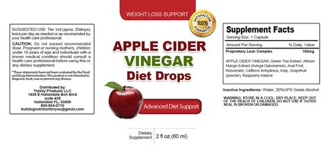 apple diet apple cider vinegar weight loss program