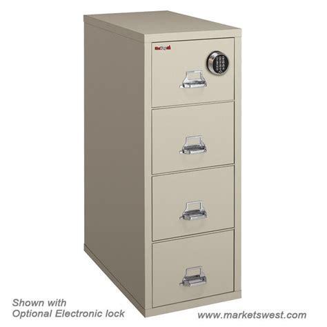FireKing 4 Drawer Vertical Legal Fireproof File Cabinet