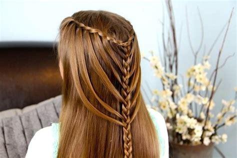 waterfall braid boys and 50 cascading waterfall braids for glamorous