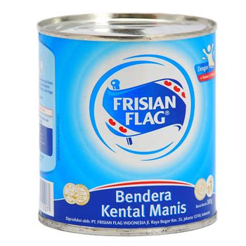 Kental Manis 385 Gram Bendera Kental Manis Can 385 Gr Grimci