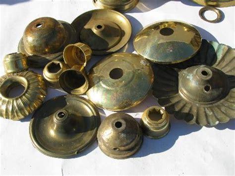 Vintage Chandelier Parts Solid Brass L Parts Lot Vintage Chandelier Light Restoration Pieces Etc
