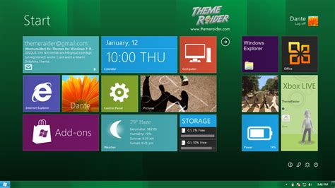 themes games win 8 windows 8 theme for windows 7