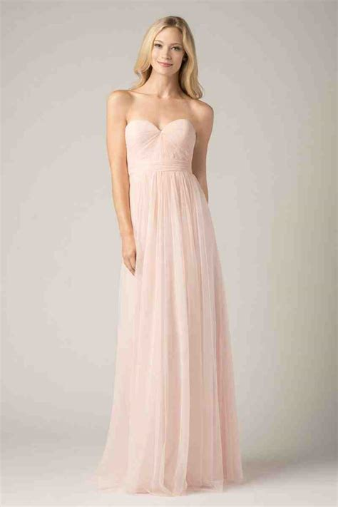 blush colored bridesmaid dress blush bridesmaid dresses complement the bridal gown