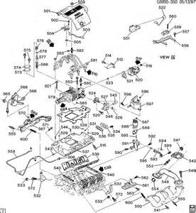 Buick Engine Parts 2000 Buick Park Avenue Ultra Engine Asm 3 8l V6 Part 5