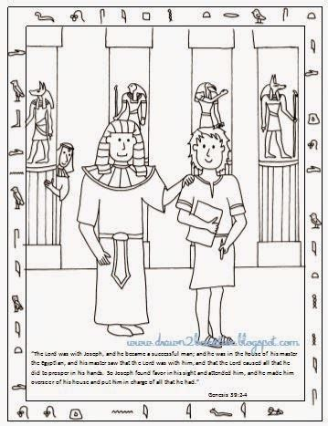 joseph the dreamer coloring pages part 1 drawn2bcreative