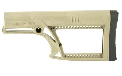 Luth Ar Mba 2 Skullaton Fixed Buttstock by Luth Ar Mba 2 Skullation Fixed Stock Fits Ar 15 Ar 10