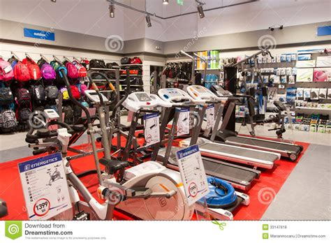 city sports shoe store new sport store opening editorial stock photo image of