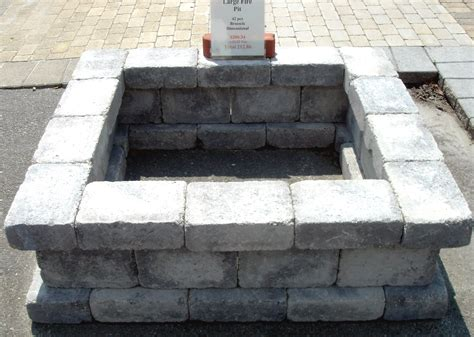 cinder block firepit concrete block and brick products 187 seg2011