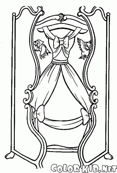 cinderella dress coloring pages coloring page prince asked cinderella to dance